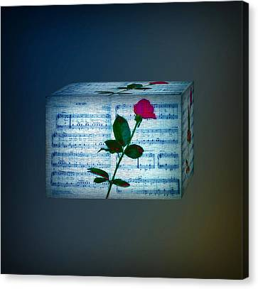 In My Life Cubed Canvas Print by Bill Cannon