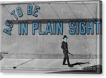 In Plain Sight Canvas Print by Juli Scalzi