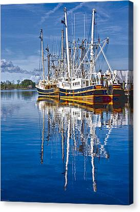 In Port Canvas Print by Ches Black