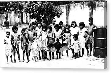In The Amazon 1953 Canvas Print by W E Loft