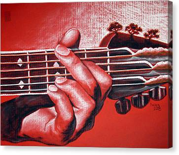 In The Chord Of G Canvas Print by Patrick Parker
