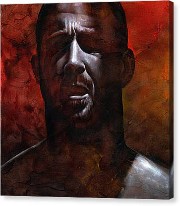 In The Darkness 1 Canvas Print by Chris  Lopez