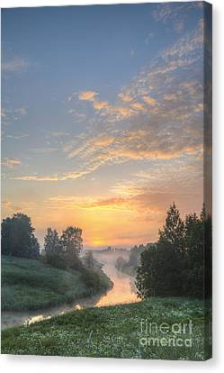 In The Morning At 04.27 Canvas Print by Veikko Suikkanen