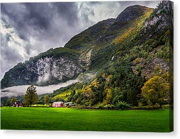 In The Valley Canvas Print by Dmytro Korol