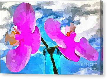 In This Moment Canvas Print by Krissy Katsimbras