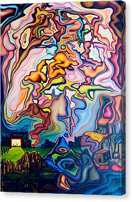Incarnation Canvas Print by Aswell Rowe