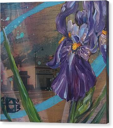 Independance In Spring Canvas Print by Andrea LaHue