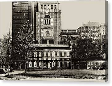 Independence Hall Canvas Print by Bill Cannon