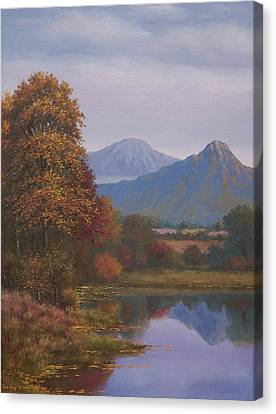 Indian Summer Revisited Canvas Print by Sean Conlon