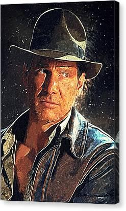 Indiana Jones Canvas Print by Taylan Soyturk