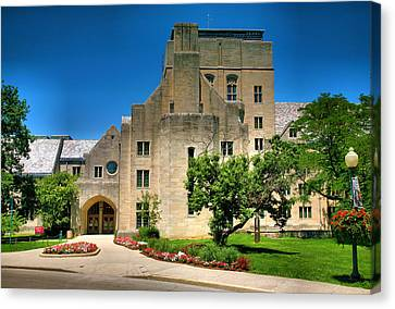 Indiana Memorial Union I Canvas Print by Steven Ainsworth