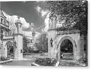 Indiana University Sample Gates Canvas Print by University Icons