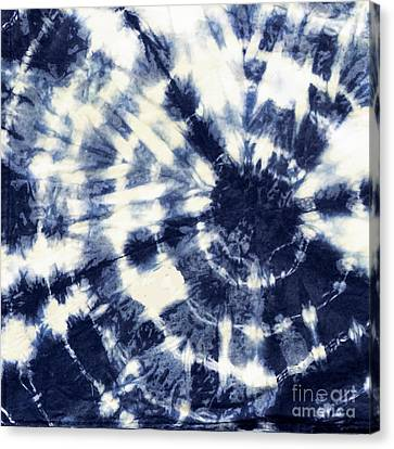 Indigo Iv Canvas Print by Mindy Sommers