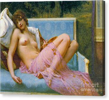 Indolence 1900 Canvas Print by Padre Art
