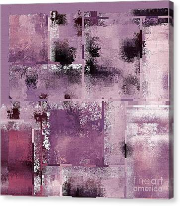 Industrial Abstract - 08t03 Canvas Print by Variance Collections