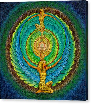 Infinite Isis Canvas Print by Sue Halstenberg