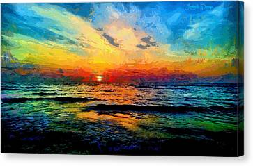 Infinity Beauty - Pa Canvas Print by Leonardo Digenio