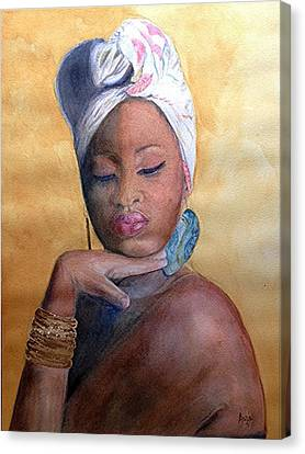 Inner Oshun Canvas Print by Anoa Kanu