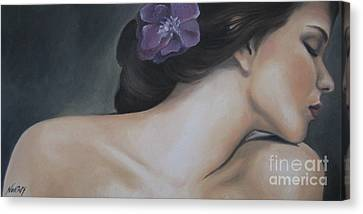 Innocence Canvas Print by Jindra Noewi