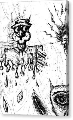 Insanity Canvas Print by Jera Sky