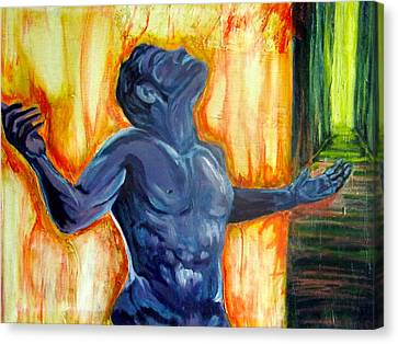Inside Canvas Print by Bianca Valencia