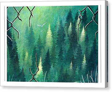 Inside Dreaming Out Canvas Print by Sarah Lammin