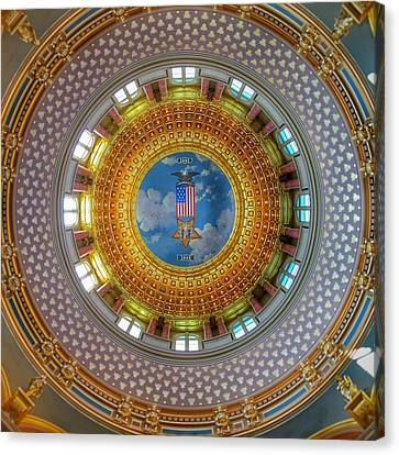 Inside The Dome Canvas Print by Jame Hayes