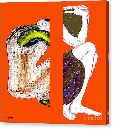 Inside The Heart Canvas Print by Patrick J Murphy