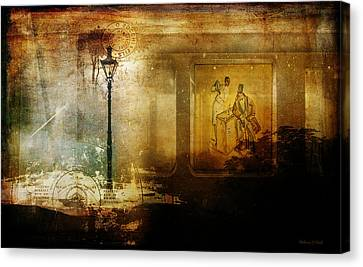 Inside Where It's Warm Canvas Print by Bellesouth Studio