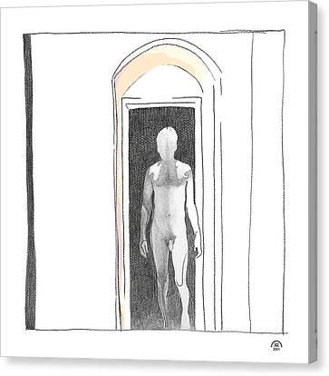 Insomnia 2 Canvas Print by Stan Magnan