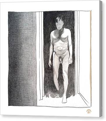 Insomnia 4 Canvas Print by Stan  Magnan