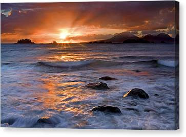 Inspired Light Canvas Print by Mike  Dawson