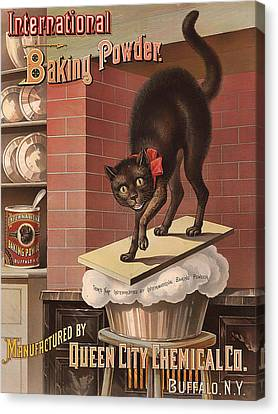 International Baking Powder 1885 Canvas Print by Mountain Dreams
