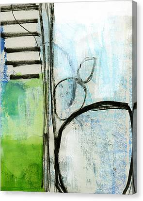 Intersections #35 Canvas Print by Linda Woods