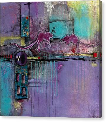 Intimate Moment Canvas Print by Laura Lein-Svencner