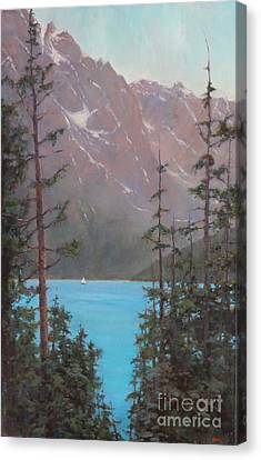 Into Summer  Canvas Print by Lori  McNee