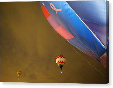 Into The Dawn Sky Canvas Print by Jeff Swan