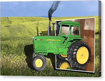Into The Fields Canvas Print by Shane Bechler
