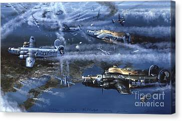 Into The Hornet's Nest Canvas Print by Randy Green