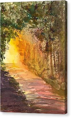 Into The Light Canvas Print by Frank SantAgata