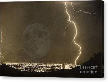 Into The Night Canvas Print by James BO  Insogna