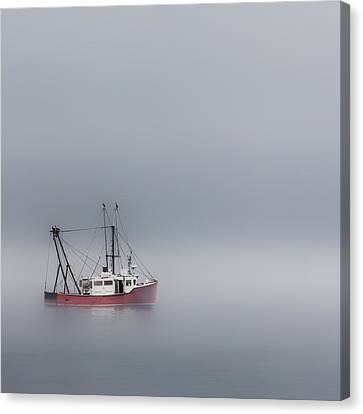 Into The Void Square Canvas Print by Bill Wakeley