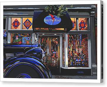 Into The Wind ... Packard Canvas Print by Mike Hill