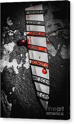 Investigation Of Cross Examination Canvas Print by Jorgo Photography - Wall Art Gallery