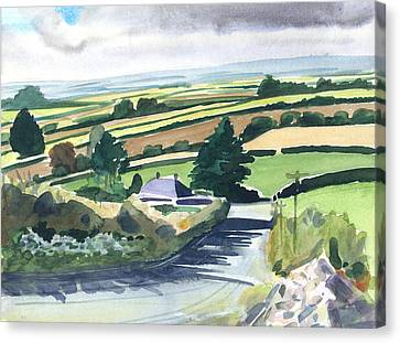Ireland County Monaghan Canvas Print by Scott Bennett