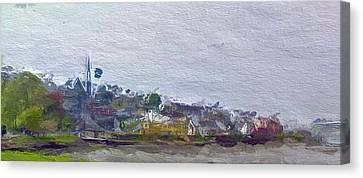Irish Coast Canvas Print by Steve K