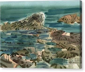 Irish Sea Canvas Print by Donald Maier