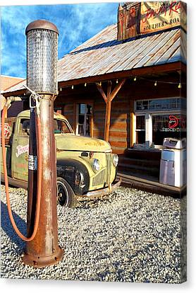 Is That You - Route 66 California Canvas Print by Glenn McCarthy Art and Photography