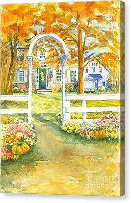 Isaiah Hall Canvas Print by Robert Haeussler