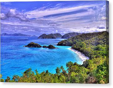 Isle Of Sands Canvas Print by Scott Mahon